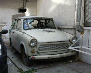 Старите коли по тротоарите