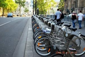 Трафика в Париж - вземи велосипед
