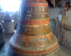 Открадната камбана и предадена за рециклиране